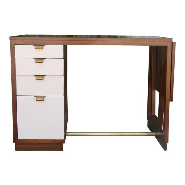 Edward Wormley Drop Leaf Desk For Sale - Image 13 of 13