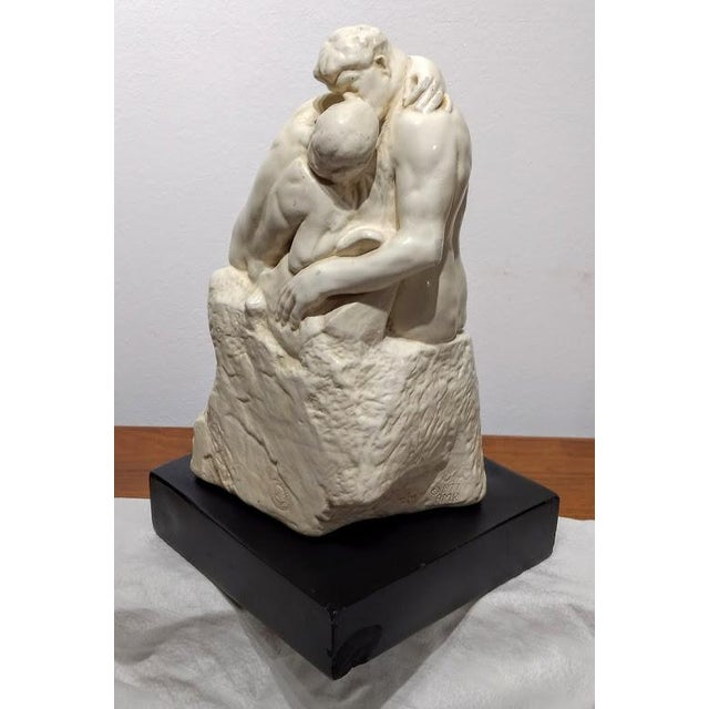 1889 Artist's Sculpture Rendition of Auguste Rodin's the Kiss For Sale In Orlando - Image 6 of 11