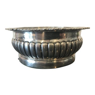 19th Century English Silverplate Wine Coaster For Sale