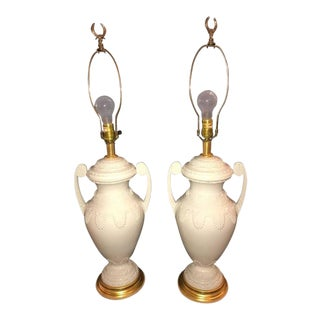 Frederick Cooper Lenox Neoclassical Style Table Lamps - a Pair For Sale