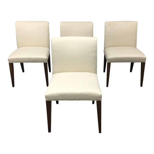 Room & Board Marie White Dining Chairs - Set of 4 - Image 1 of 8