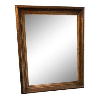"""46""""x58"""" Beveled Mirror in Custom Gilt Frame"""