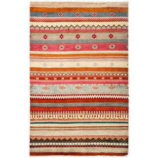 """Lori Hand Knotted Area Rug - 3'2"""" X 4'10"""""""