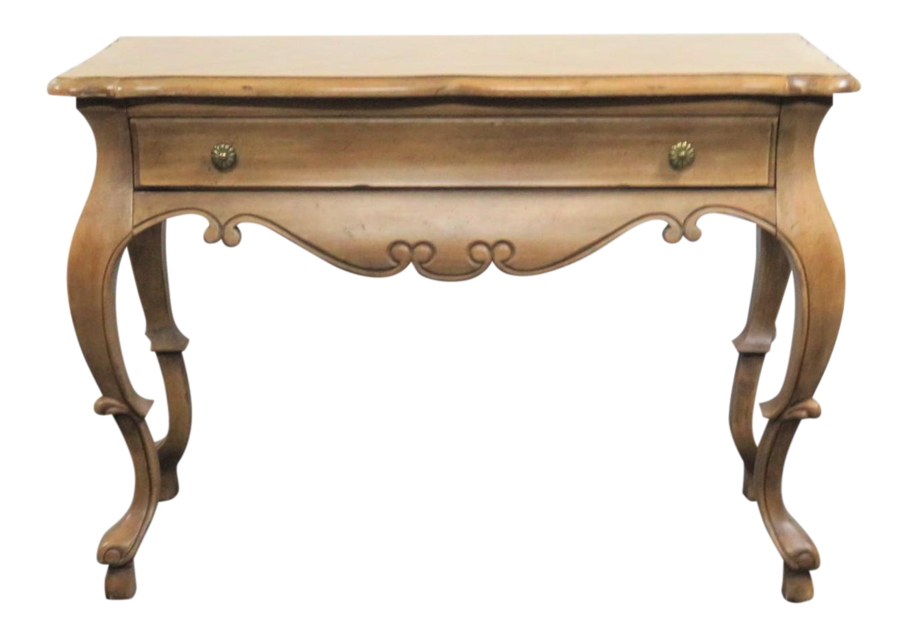 Superieur Hickory French Style Console Table