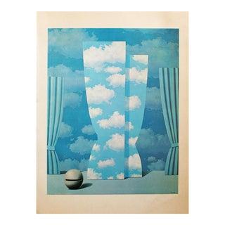"""1972 Rene Magritte, """"Wasted Effort"""" Original Photogravure For Sale"""