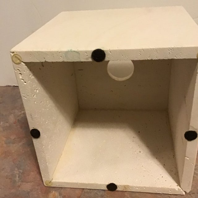 Mid 20th Century Maitland Smith Tessellated Marble Stone Tissue Box Last Call For Sale - Image 5 of 6