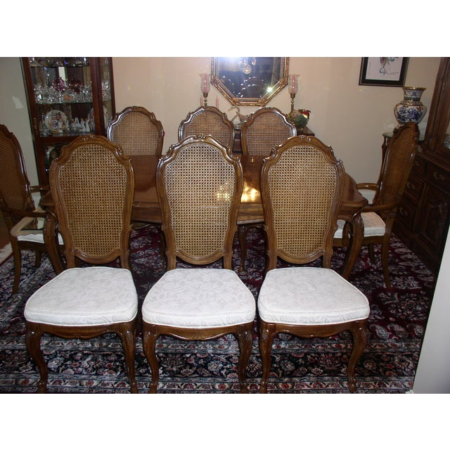 Thomasville Dining Set with 8 Chairs - Image 3 of 10