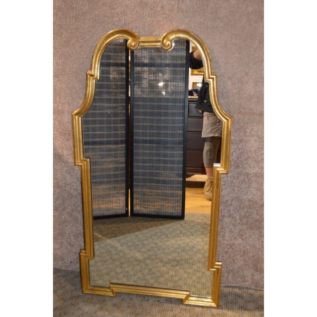 "Vintage Wall Mirror. Manufacture: Palladio. Made in Italy Gold Frame Measurements: 28""W x 50""H"
