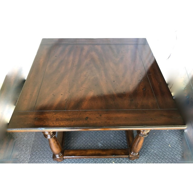 Rustic Ralph Lauren Tavern Accent Table For Sale - Image 3 of 9