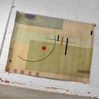 Vintage Modernist Wool Rug by Meinecke Collection Exclusively for Herman Miller, 8x11 Preview