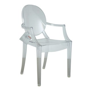 Louis XVI Ghost Chairs by Philippe Starck for Kartell, Unused With Original Tags, 12 Available