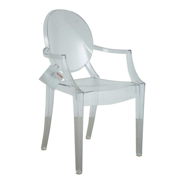 Louis XVI Ghost Chairs by Philippe Starck for Kartell, Unused With Original Tags, 12 Available For Sale