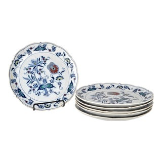 Set of Blue Danube Chargers For Sale