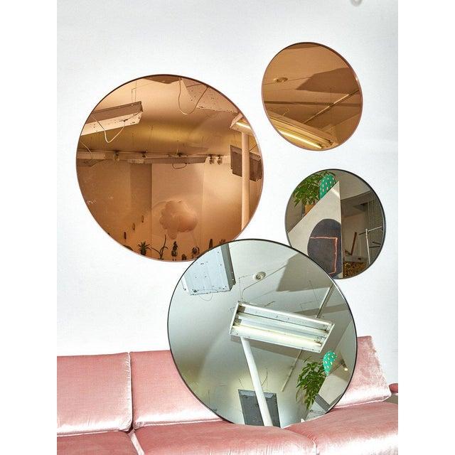 Contemporary Aytm Large Black Circum Mirror For Sale - Image 3 of 7