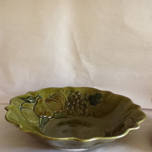 Mid-Century California Pottery Bowl & Pitcher - A Pair - Image 8 of 11