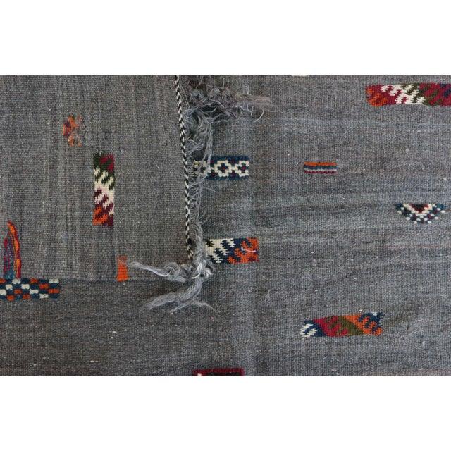 "Aknif Moroccan Rug - 4'2"" x 6'7"" - Image 4 of 4"
