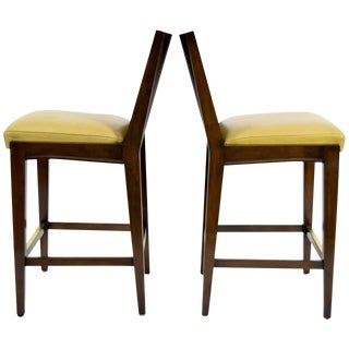 """Kenya"" Counterheight Barstools by Axis - A Pair For Sale"