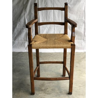 Distressed Wood Barstools- Set of 6 Preview