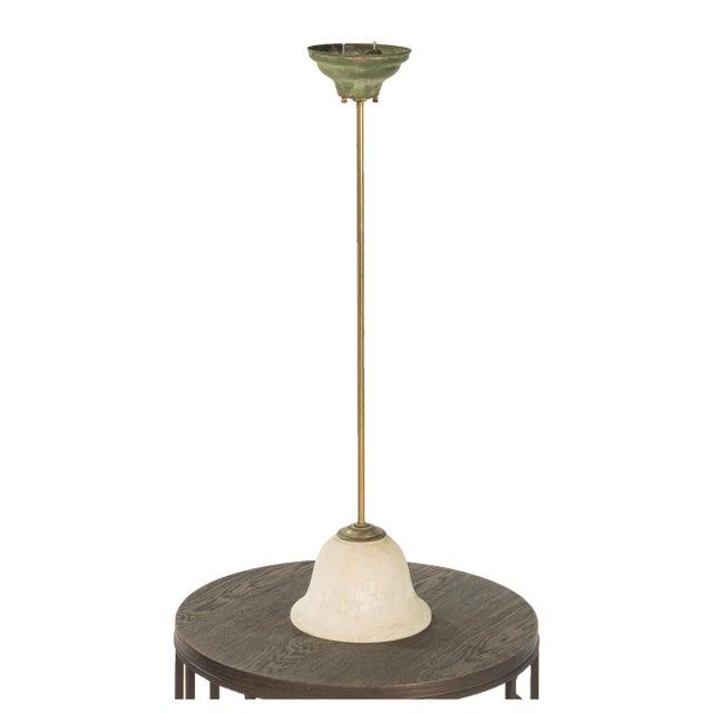Vintage Sarreid LTD Glass Pendant Light - Image 2 of 3