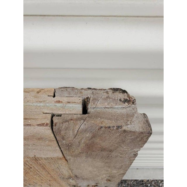Rustic 19th Century Mexican Architectural Window - a Pair For Sale - Image 9 of 10