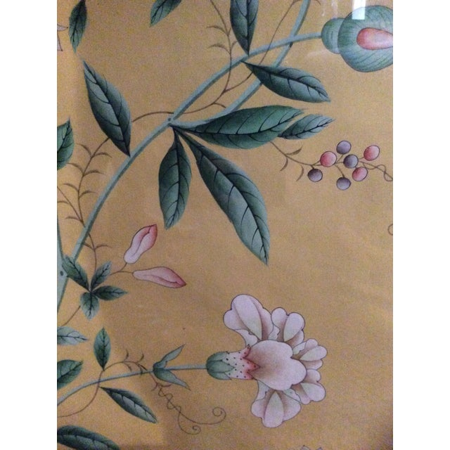 1970s Vintage Framed Gracie Wallpaper Panels - A Pair For Sale - Image 9 of 13