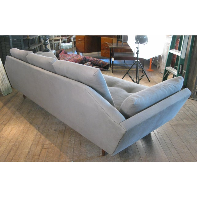 Craft Associates Vintage 1950s Walnut Gondola Sofa by Adrian Pearsall for Craft Associates For Sale - Image 4 of 8