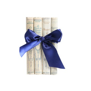 Vintage Book Gift Set: French Classics - Set of 4