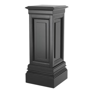 Black Wooden Column - S | Eichholtz Salvatore For Sale