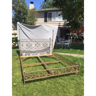 Vintage Kreiss Iron Bed Frame Preview