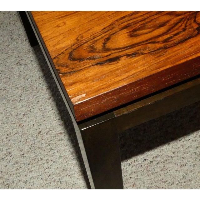 Harvey Probber Rosewood Cocktail Tables - A Pair For Sale - Image 12 of 13
