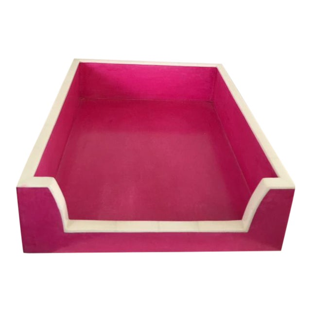 Hot Pink Paper Tray - Image 1 of 5