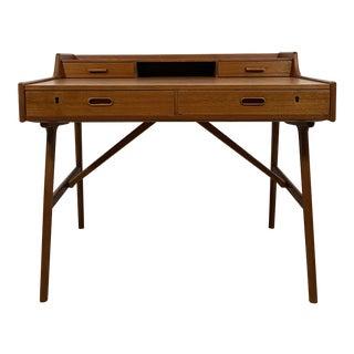 Danish Modern Desk by Arne Iverson For Sale