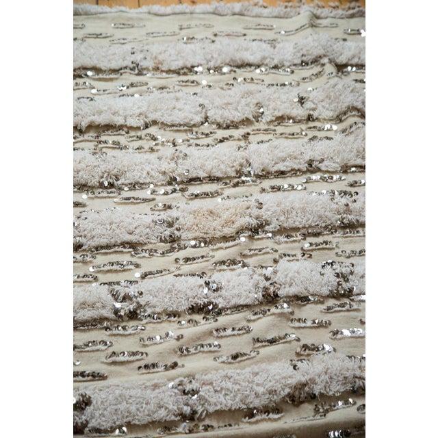 "Vintage Wedding Blanket Rug - 3'8"" x 6'7"" - Image 6 of 6"