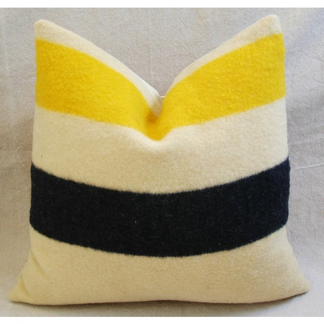 Multi-Striped Hudson's Bay Blanket Pillows - Pair - Image 5 of 11