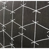 Image of Criss Cross - Brown Fabric by Ferrick Mason - 5 Yards For Sale