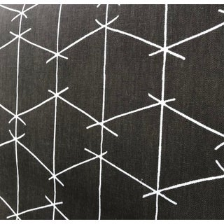 Criss Cross - Brown Fabric by Ferrick Mason - 5 Yards For Sale
