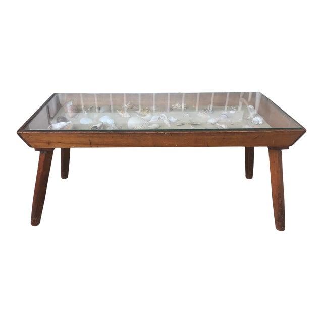 20th Century Americana Beachcomber Pine Coffee Table For Sale