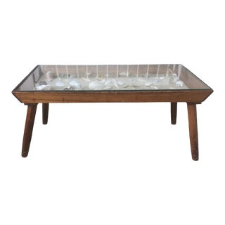 20th Century Folk Art Beachcomber Pine Coffee Table For Sale