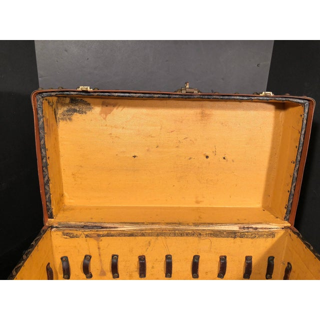 Goyard Jewelry or Valuables Trunk Train Case For Sale In Philadelphia - Image 6 of 13