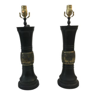 Pre-WWII Asian Table Lamps For Sale