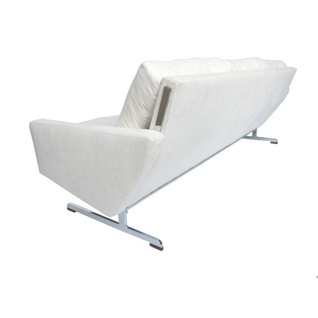 White Danish Modern Sofa by Johannes Andersen - Image 4 of 10