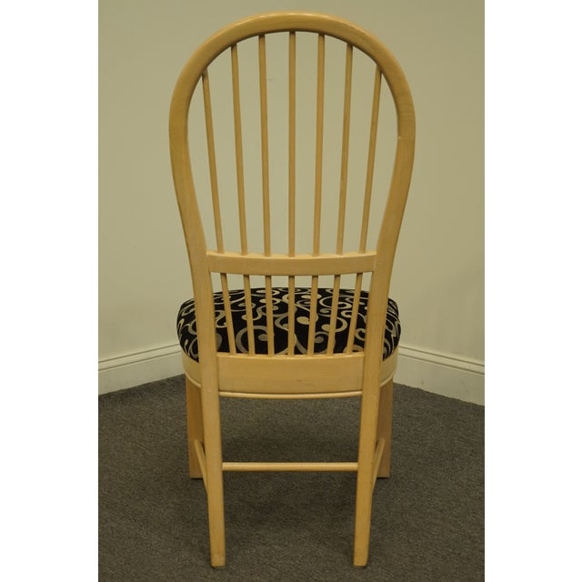 Wood Thomasville Furniture Windrift Collection Dining Side Chair For Sale - Image 7 of 10