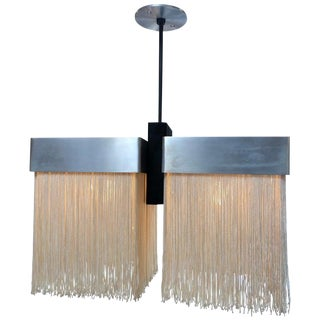 Rare Pendent Attributed to Massimo Vignelli, Arteluce Ceiling Lamp Model 204 For Sale