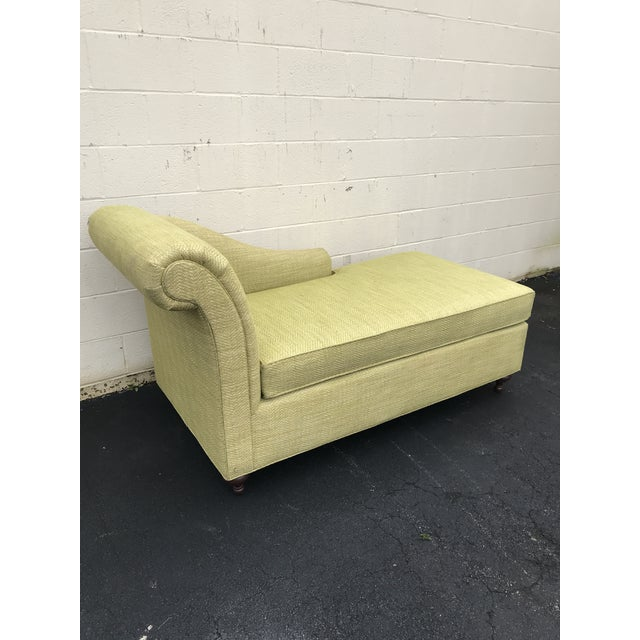 Mid Century Modern Bright Green Canvas Fainting Chairs - a Pair For Sale In Atlanta - Image 6 of 9