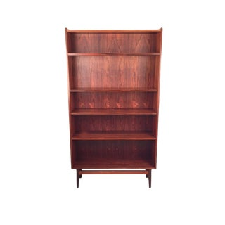 Vintage Danish Tapered Rosewood Bookcase