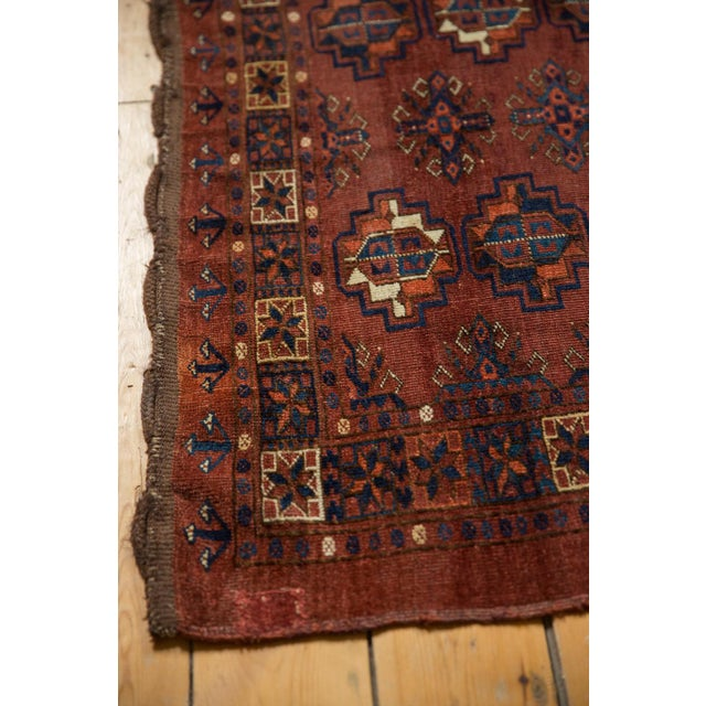 "Vintage Chodor Turkmen Rug - 3'2"" X 4'9"" For Sale In New York - Image 6 of 11"