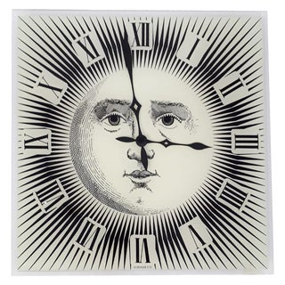 Wall Clock by Fornasetti For Sale