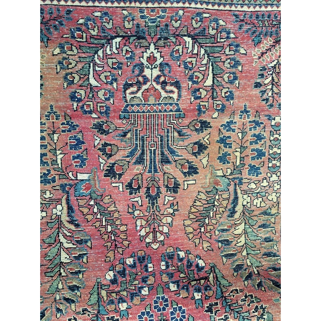 1920s Hand-Knotted Runner - 2′ × 6′ - Image 3 of 11