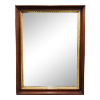 Antique Giltwood Mirror For Sale