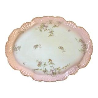 Vintage Limoges Coiffe Porcelain Plate